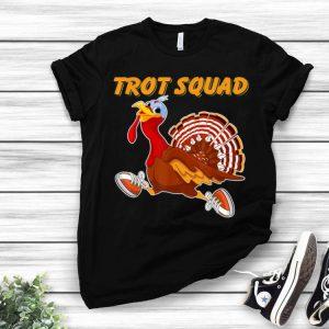 Original Turkey Trot Squad Thanksgiving Matching Family Running Race shirt