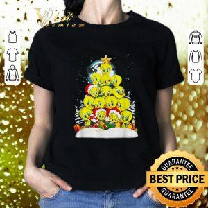 Original Tweety Santa Christmas tree shirt