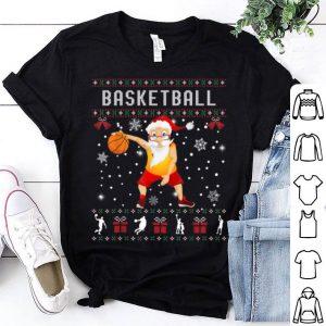 Premium Basketball Santa Claus Ugly Christmas Sweater Sport Lover shirt
