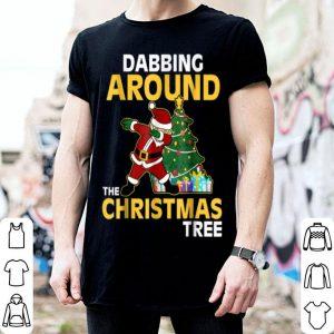 Premium Dabbing Around The Christmas Tree Funny Flossing Gift shirt