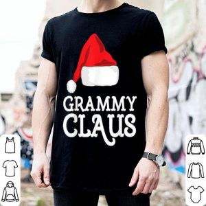 Premium Grammy Claus Christmas Family Matching Pajama Hat shirt
