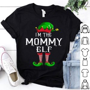 Premium I'm The Mommy Elf Matching Family Group Christmas sweater