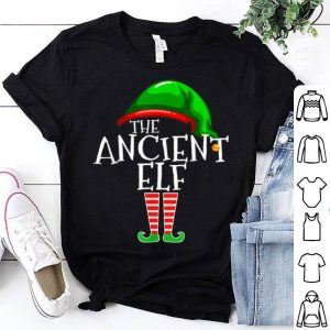 Pretty Ancient Elf Group Matching Family Christmas Gift Grandpa Old shirt