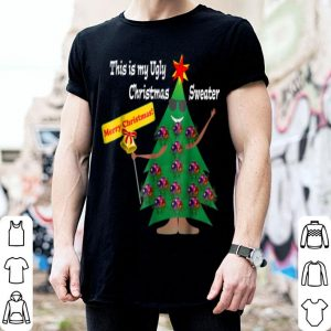Pretty This is my Ugly Christmas Sweater Funny Holiday shirt
