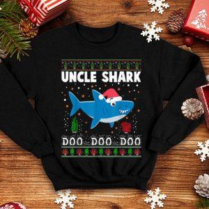 Pretty Uncle Shark Doo Doo Christmas For Family Pajamas sweater