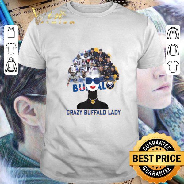 Top Buffalo Bills Crazy Buffalo Lady shirt