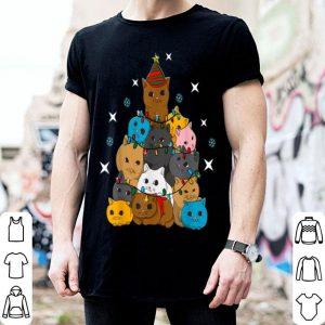 Top Cat Kitten Christmas Tree sweater