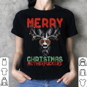 Top Dirty Christmas - Merry Christmas Motherfuckers tee shirt