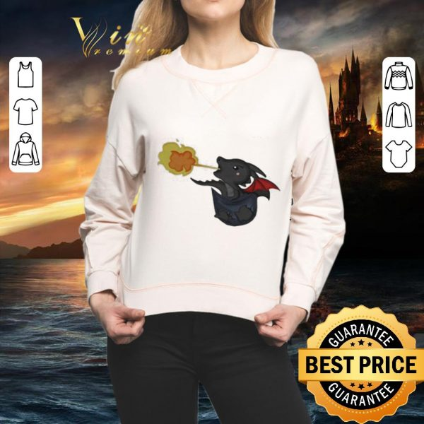 Top Drogon Dracarys in the pocket Game Of Thrones shirt