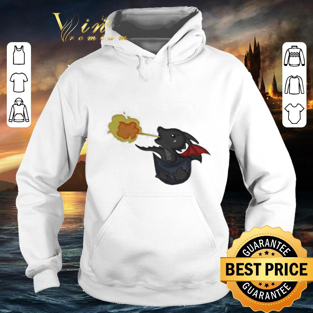 Top Drogon Dracarys in the pocket Game Of Thrones shirt 4 1 - Top Drogon Dracarys in the pocket Game Of Thrones shirt