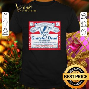 Top Grateful Dead King of bands world's greatest band shirt