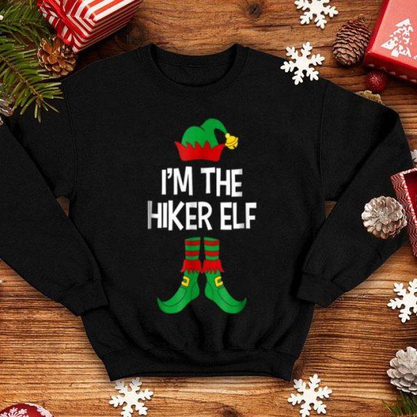 Top I'm The Hiker Elf Matching Family Group Christmas shirt