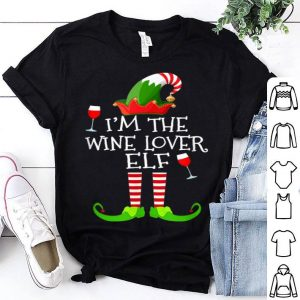 Top I'm The Wine Lover Elf Matching Group Christmas shirt