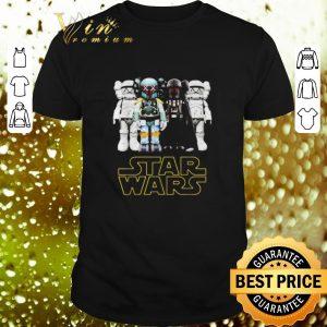 Top Kaws Star Wars Stormtrooper Boba Fett Darth Vader shirt