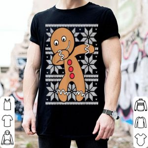 Top UGLY CHRISTMAS Dabbing Gingerbread Cookie Xmas Cute Holiday shirt