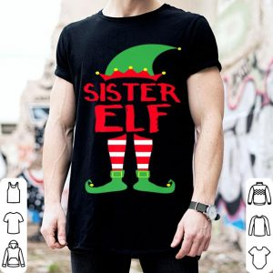 Awesome Sister Elf - Christmas Family Matching Pajamas Gift sweater