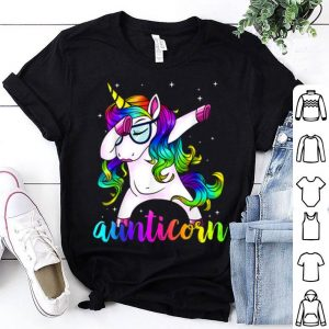 Beautiful Aunticorn Aunty Dabbing Unicorn Auntie Aunt Christmas Gift sweater