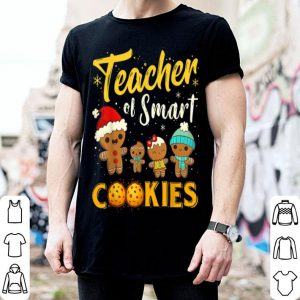 Beautiful Christmas Teacher Of Smart Cookies Funny Teacher Xmas Gift sweater