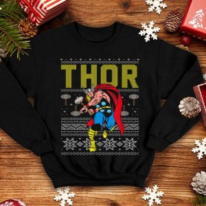 Beautiful Marvel Thor Retro Ugly Sweater Christmas Graphic sweater
