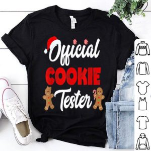 Beautiful Official Cookie Tester Christmas Baking Team Holiday sweater