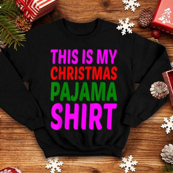 Beautiful This Is My Christmas Pajama Funny Gifts For Women Men sweater