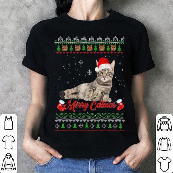 Beautiful Ugly Christmas Sweater Cat Christmas Cat Gifts Women sweater