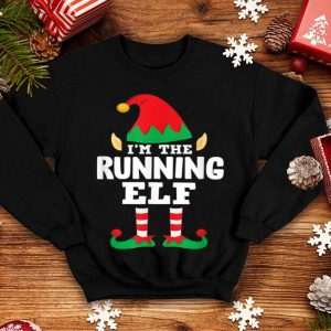 I'm The Running Elf Matching Family Group Christmas Runner sweater