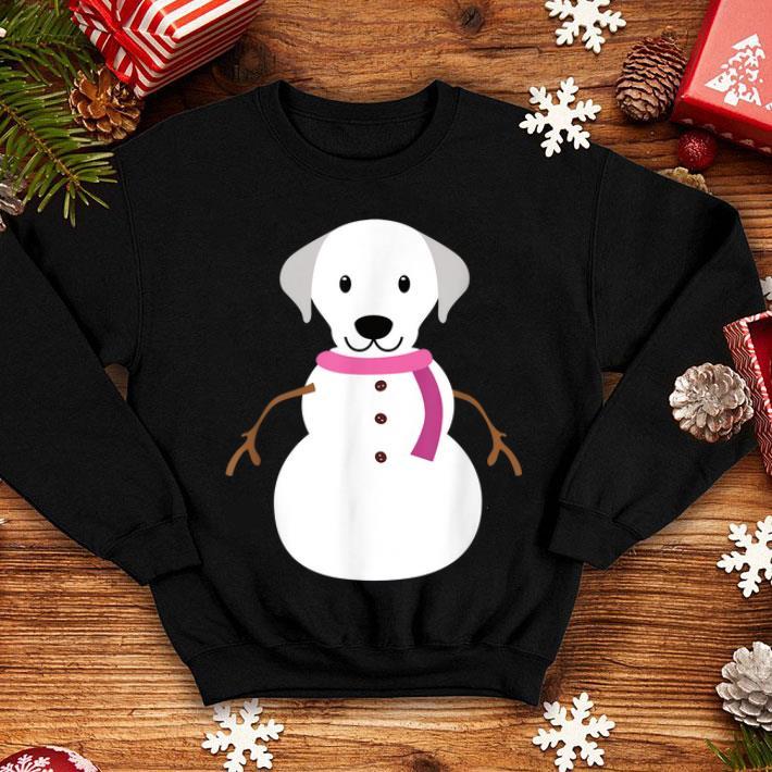 Nice Christmas Gift for Dog Lover 'Labrador Snowman ...