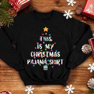 Nice This is my Christmas Pajama Tee Xmas Family Gift Pajamas Tee sweater
