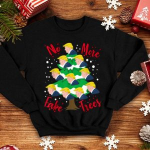 Official Donald Trump Republican Christmas Tree No Fake Trees Gift sweater