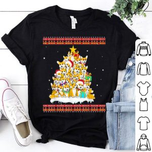 Official Funny Corgi Dog Tree Ugly Christmas Sweater Jumper sweater