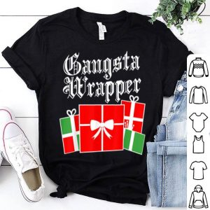 Official Gangsta Wrapper Funny Christmas sweater