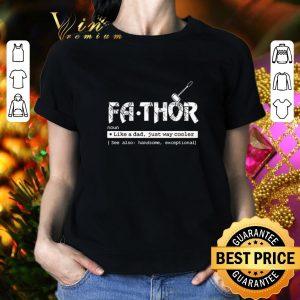 Original Avengers Fa-Thor like a dad but way cooler Mjollnir shirt