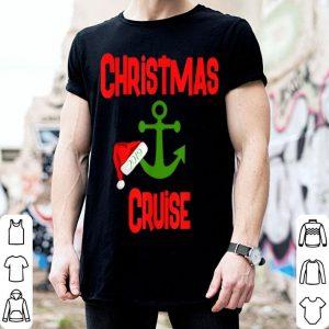 Original Christmas Cruise 2019 Boat Anchor Santa Hat Cruising Gift sweater