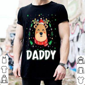 Original Cute Daddy Reindeer Santa Ugly Christmas Family Matching sweater