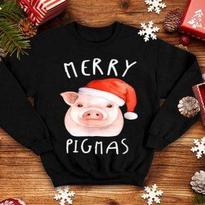 Original Cute Merry Pigmas Christmas Pajama For Pig Lovers Farmer sweater
