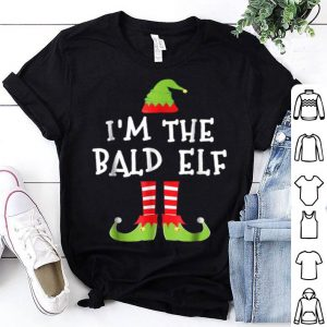 Original I'm The Bald Elf Matching Family Elf Christmas sweater