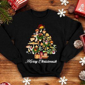 Original Mushroom Christmas Tree Merry Christmas mushroom garden Xmas sweater