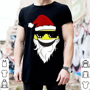 Original Santa Claus Emojis with Hat, Beard and Sunglasses Christmas sweater