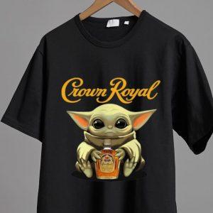 Original Star Wars Baby Yoda Hug Crown Royal shirt
