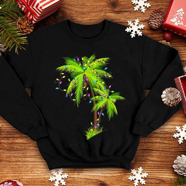 Palm Tree Beach Funny Tropical Xmas Gift Christmas Lights