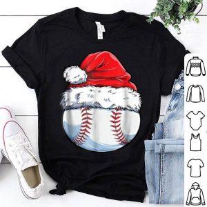 Premium Baseball Ball Santa Christmas Boys Xmas Hat Sport sweater