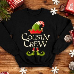 Premium Cousin Crew Gift ELF Matching Family Christmas Ugly sweater