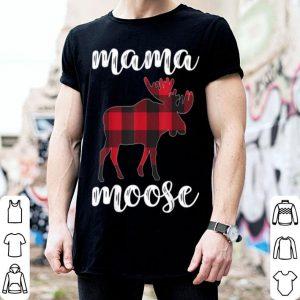 Premium Mama Moose Matching Family Christmas Clothes Plaid Pajama sweater