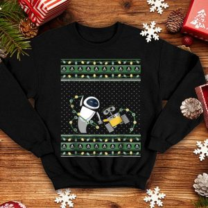 Pretty Disney Pixar Wall-E Eve Ugly Christmas Sweater sweater