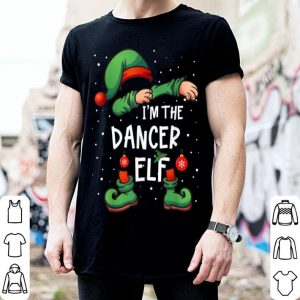Pretty I'm The Dancer Elf Dabbing Matching Xmas sweater