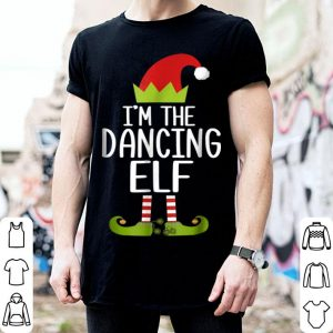 Pretty I'm The Dancing Elf Christmas Family Costume sweater