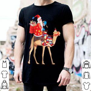 Santa Riding Camel Christmas Funny Christmas Camel sweater
