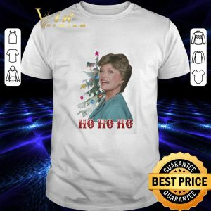 Top Blanche Devereaux ho ho ho Christmas Golden Girl shirt