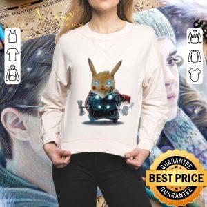 Top Detective Pikachu Thor fat shirt